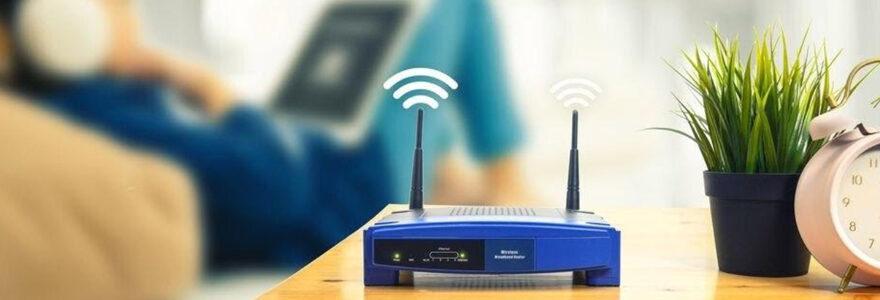 box internet avec antenne wifi