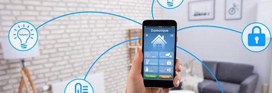Application de domotique sur smartphone
